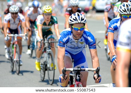 ARLINGTON, VIRGINIA - JUNE 12:  Cyclists compete in the U.S. Air Force Cycling Classic on June 12, 2010 in Arlington, Virginia