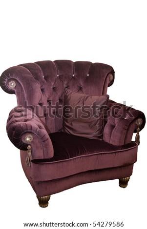 Arm-chair - stock photo
