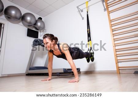 arm fitness training - stock photo