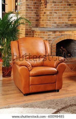 armchair - interior decoration - stock photo