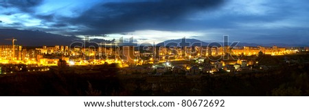 Armenia,Yerevan, Nights Panoramic - stock photo