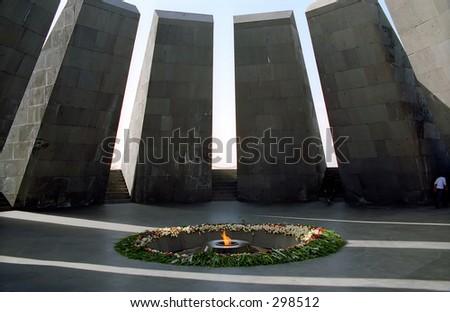 Armenian Genocide monument - stock photo