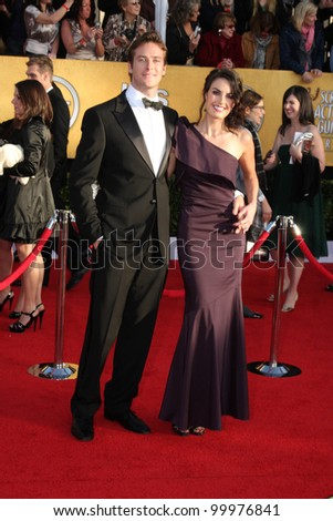 Armie Hammer  at the 17th Annual Screen Actors Guild Awards, Shrine Auditorium, Los Angeles, CA. 01-30-11
