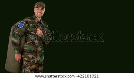 Army. - stock photo