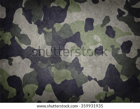 Army Camouflage Texture - stock photo