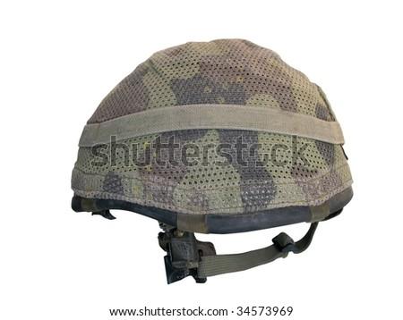 Army Helmet - stock photo