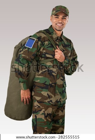 Army, Military, Armed Forces. - stock photo