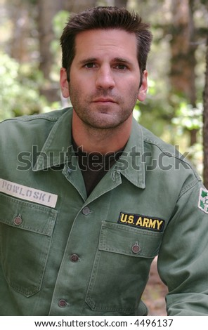 Army Soldier - stock photo