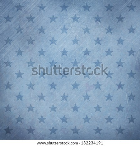 Army stars retro style aged abstract background - stock photo