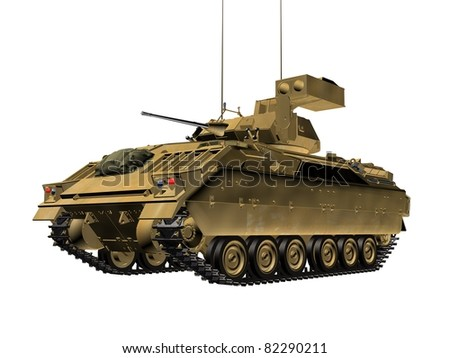 Army tank - stock photo