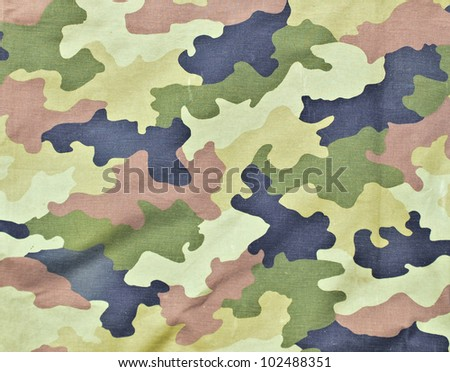 Army texture background - stock photo