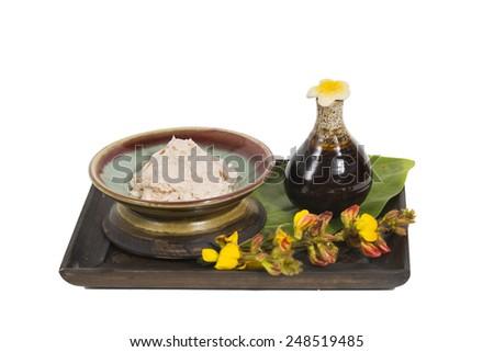 aroma and spa  - stock photo