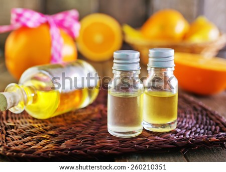 aroma oil - stock photo