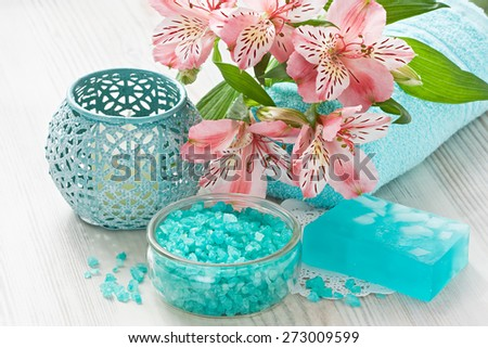 Aroma SPA set   - stock photo