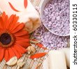 Aromatherapy and beauty treatment, composition. Still life. - stock photo