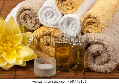 Aromatherapy and spa treatment