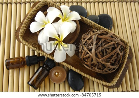Aromatherapy. Essential oil .Spa and beauty treatment - stock photo