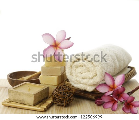 Aromatherapy SPA set - stock photo