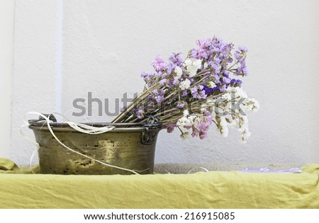 Aromatic lavender, detail of a plant with natural fragrance, flavor and tradition - stock photo