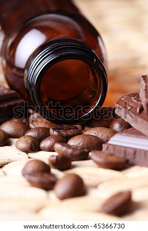 Aromatic oil-chocolate and  coffee