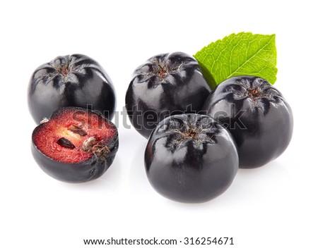 Aronia berry - stock photo