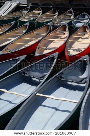 Array of Canoes