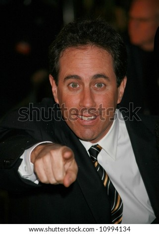 Arrivals for the UK premiere of Bee Movie Empire, LS, London Jerry Seinfeld
