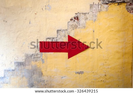 Arrow - stock photo