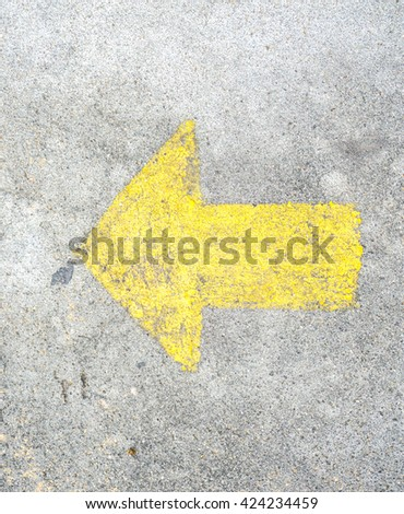 arrow - stock photo