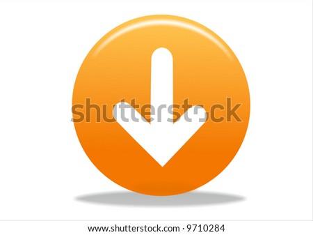 arrow icon symbol - stock photo