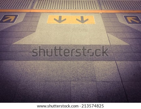 arrow sign   - stock photo