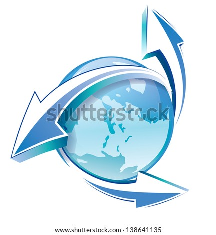 Arrow symbol - stock photo