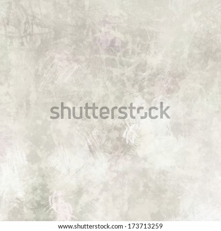 art abstract acrylic monochrome background in light grey and white colors - stock photo