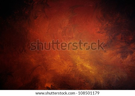 Art abstract background. Original acrylic on canvas painting - stock photo