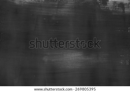 art abstract black painted texture - stock photo
