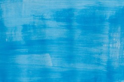 Art Abstract Blue Painted Texture