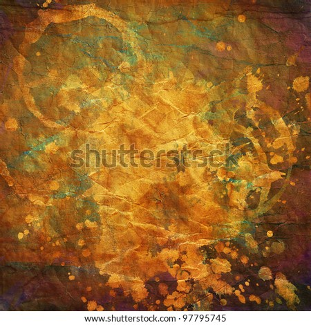 art abstract colorfur watercolor  paper background