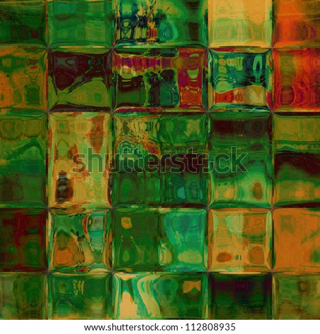 art abstract geometric colorful texture background - stock photo