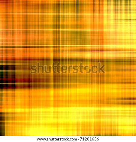 art abstract geometric golden, orange and black background - stock photo