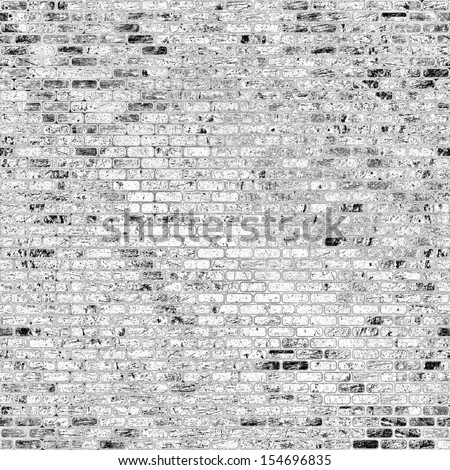 art abstract geometric textured background in black and white colors, seamless pattern - stock photo