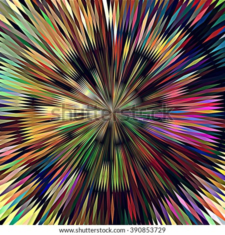 art abstract graphic spherical grunge colored background in rainbow colors; geometric pattern - stock photo
