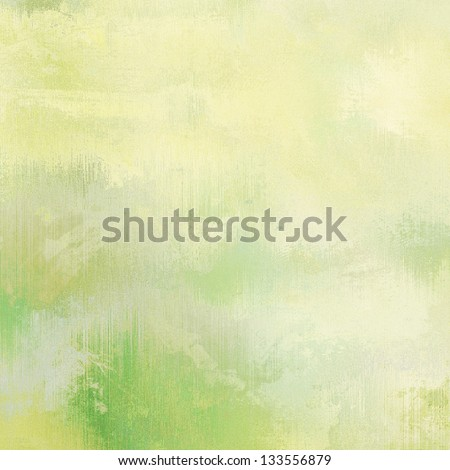 art abstract grunge dust textured, light green background - stock photo