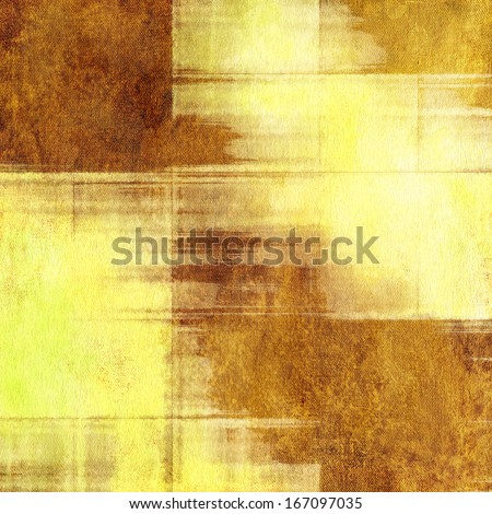 art abstract grunge fabric textured beige, yellow and brown background  - stock photo