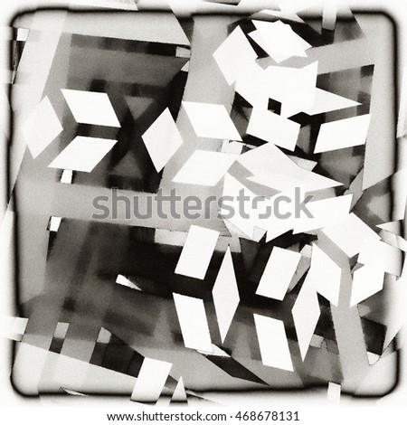 art abstract grunge geometric monochrome background