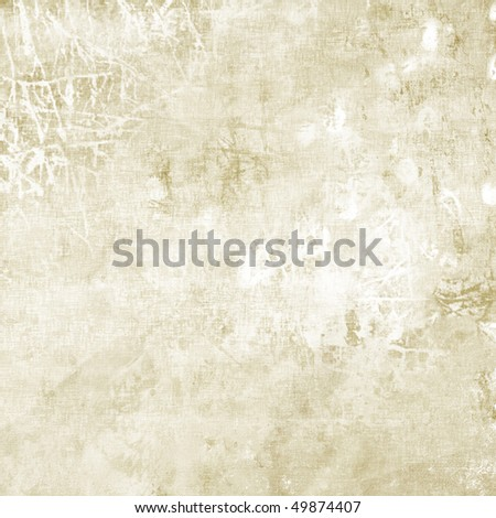 art abstract grunge graphic light monochrome background in white and beige colors - stock photo