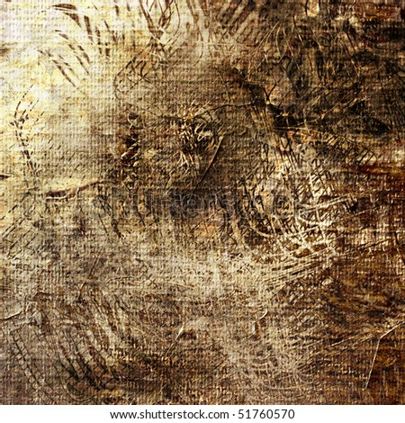 art abstract grunge graphic paper textured brown and beige background - stock photo