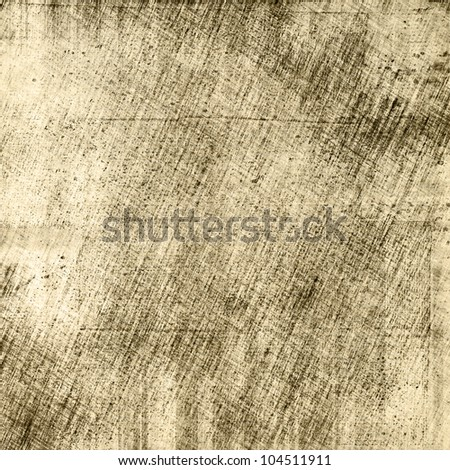 art abstract grunge paper textured graphic background in beige, grey and black colors - stock photo