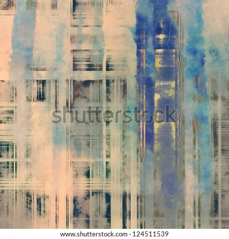 art abstract grunge textured background in blue, dark grey and beige colors - stock photo