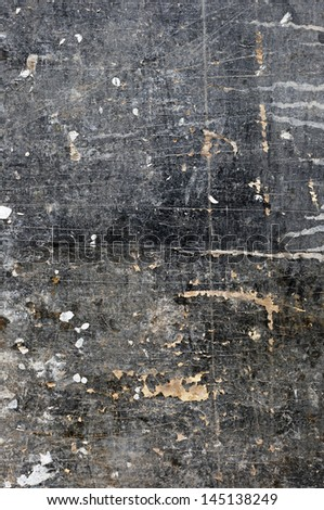 art abstract grunge textured grey and black background - stock photo