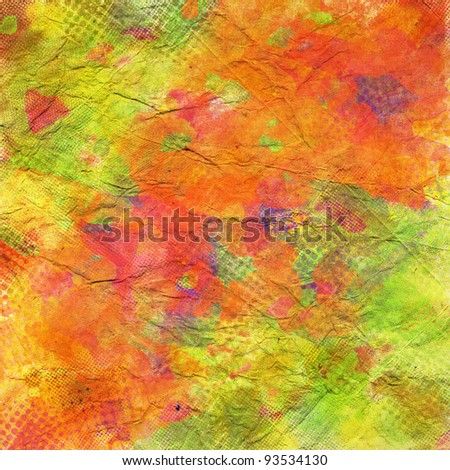 art abstract grunge  watercolor texture background - stock photo